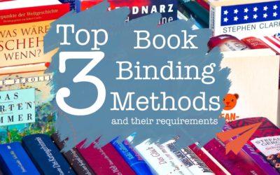 The Top 3 Book Binding Methods