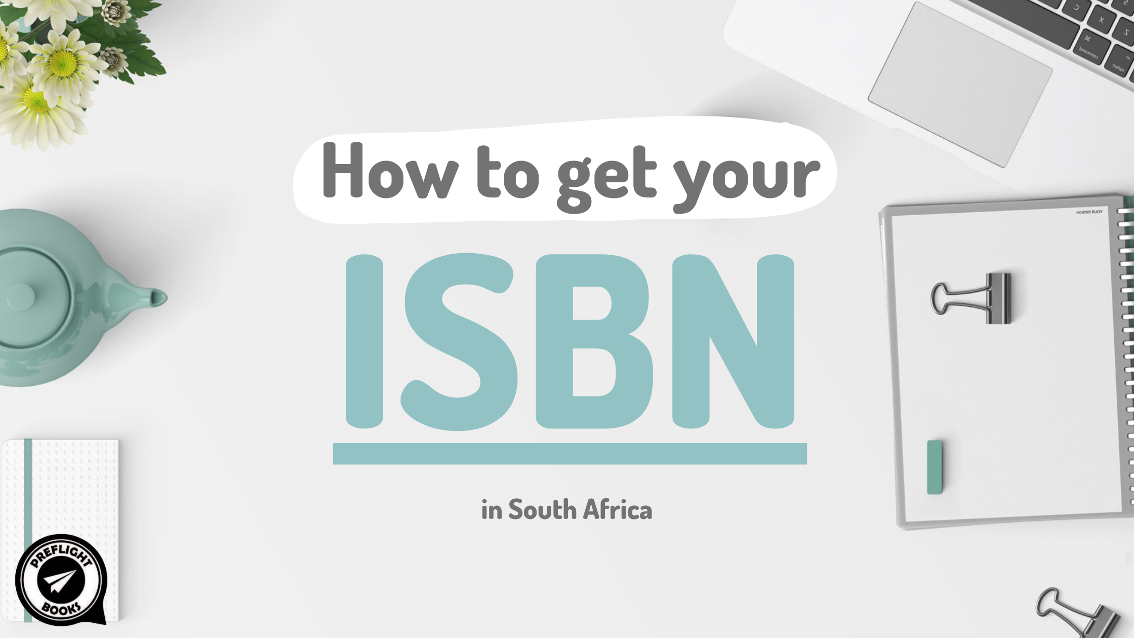 How to get your ISBN in South Africa Feature Image