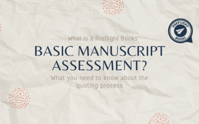 What is a Preflight Books Basic Manuscript Assessment?