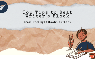 Tips to Beat Writer's Block from our Preflight authors